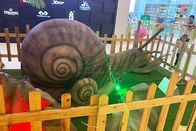 Lovely Animatronic Snail Indoor Outdoor Theme Park Simulation Insects